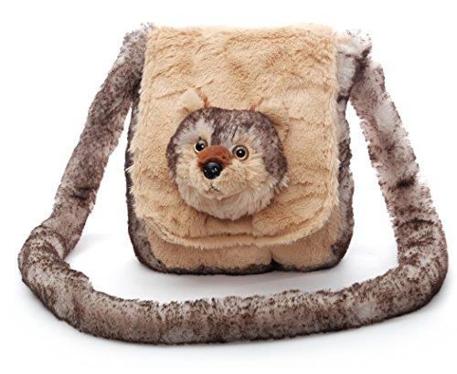 Inware 6507 - Kindergartentasche Wolf Lupus, beige/braun, Umhängetasche