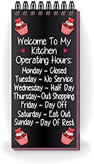Nourish Paper Fridge Magnet (Pink Black)