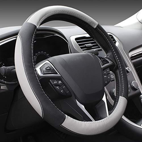 SEG Direct Black and Gray Microfiber Auto Car...
