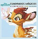 Cuadrados mágicos. Animales Disney (Hachette Heroes - Disney - Colorear)