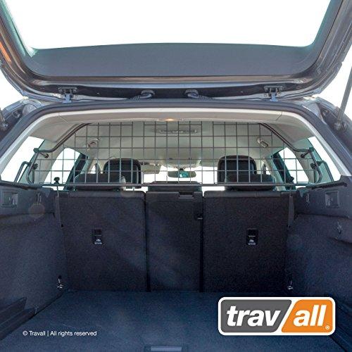 Travall Guard Hundegitter Kompatibel Mit Volkswagen Passat Variant (2014-2019) Alltrack (Ab 2015) TDG1474 - Maßgeschneidertes Trenngitter