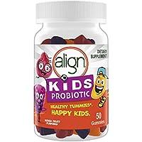 50-Count Align Kids Probiotic, Digestive Health Mixed Fruit Flavor Gummies
