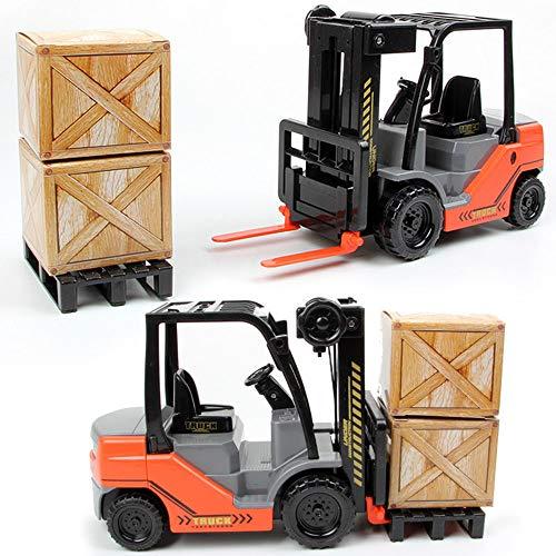 AOTE-D Spielzeug LKW, Trägheit Gabelstapler Kran Kran Spielzeug Kind Junge Spielzeugauto Junge Mädchen Spielzeug