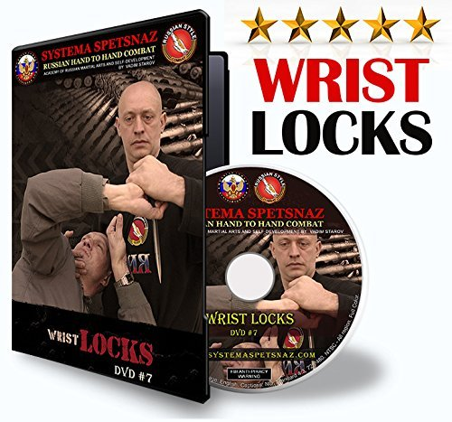 STREET SELF-DEFENSE DVD - WRIST LOCKS. Hand to Hand Combat DVD by Russian Systema Spetsnaz, Russian Martial Arts Instructional Video in English