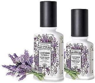 Poo-Pourri Lavender Vanilla 2 Oz & 4 Oz Bottle Set