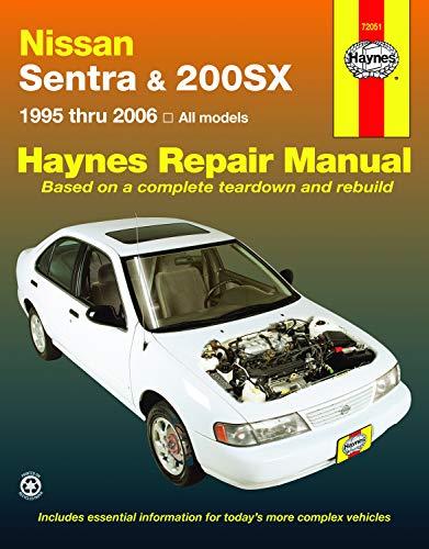 Nissan Sentra & 200SX (95-06) Haynes Repair Manual
