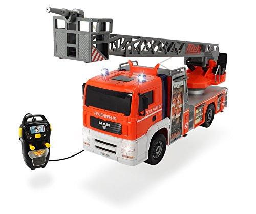 Dickie Toys 203719000 - Fire Patrol, kabelgesteuertes Feuerwehrauto, 50 cm*