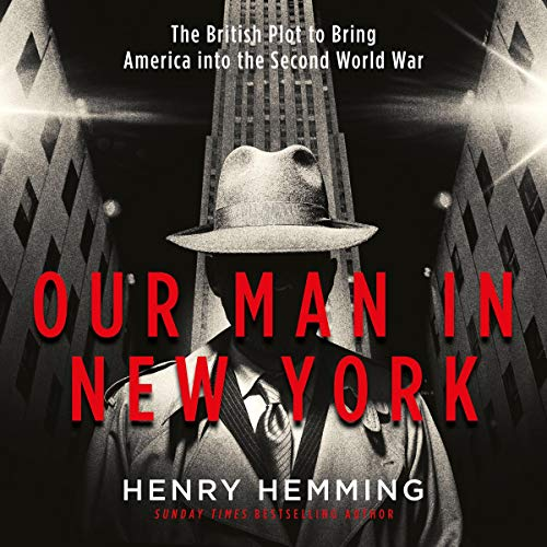 Our Man in New York audiobook cover art