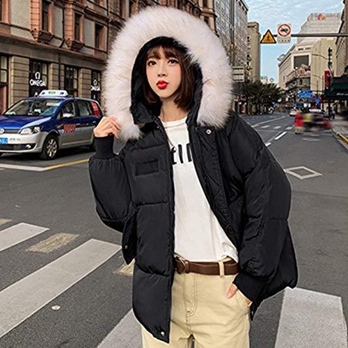 Chaqueta De Plumón Ligera Para Mujer En Invierno,Moda Invierno Encapuchados Glamour Mujeres Plus Size Casual Suelto Down Jacket Tarta Caliente Gruesa Cadena Carat Atmósfera De Ocio Al Aire Libre Ne