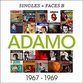 Singles + faces b 1967-1969