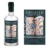Etiqueta personalizada para botella de ginebra Sipsmith BL150