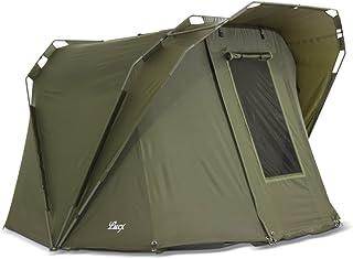 Lucx® Coon karp tält, 2 personer, fisketält, Bivvy tält 1 till 2 mankarp kupol 10 000 mm
