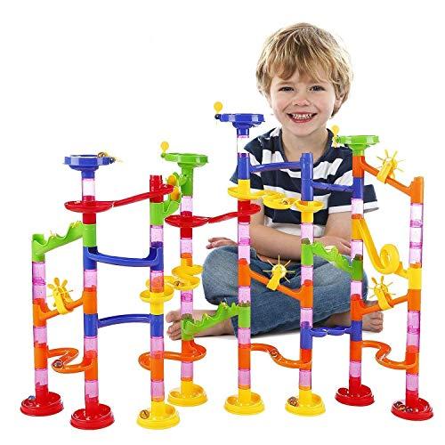 ビーズコースター WloveTravel 子ども おもちゃ 知育玩具 迷路 組み立て くるくる 子供想像力と創造力を育...