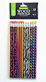 CASEMATE Fashion Wood Pencils 12 Count No. 2 Lead