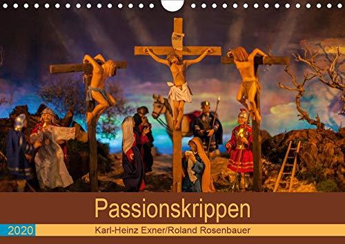 Passionskrippen (Wandkalender 2020 DIN A4 quer): Die Passion Christi in kunstvollen Krippen (Monatskalender, 14 Seiten ) (CALVENDO Glaube)