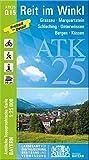 Blatt Q15 Reit im Winkl 1:25 000 (ATK25 Amtliche Topographische Karte 1:25000 Bayern)