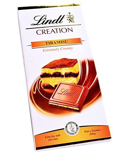 Lindt Creation Tiramisu - 150g Bar - Imported, not available in UK shops
