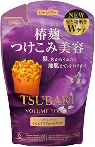 Tsubaki Volume Touch Shampoo Refill 380ml 2015 Spring Edition Japan New