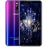 Moviles Libres 4G Android 9.0, J6+(2020) 3GB RAM+16GB ROM/128GB Extensión 6.0 Pulgadas Full-Screen 4800mAh Cámara 8MP+5MP Smartphone Libre Quad-Core Dual SIM GPS Bluetooth Teléfono móvil (púrpura)