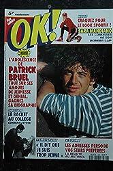 OK ! âge tendre 828 NOV 1991 BRUEL - Sara Mandiano - Les Inconnus - Yannick Noah