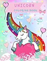 Unicorn Coloring Book: -For Kids Ages 4-8-