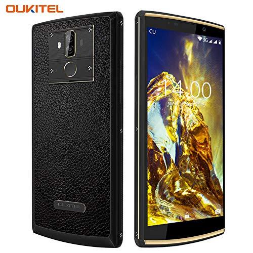 [10000 mAh Akku] OUKITEL K7 Pro Handy, 4G LTE Smartphone ohne Vertrag, Octa-core 4GB RAM+ 64GB ROM, Android 9.0 Handy, 6.0