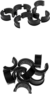 Homyl 10 Pair Bike Bicycle Handlebar Clamp Shims Reducer Spacer Set 22.2/25.4mm Sturdy and Durable to Use