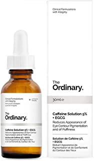 The Ordinary Caffeine Solution 5% + EGCG (30ml): Reduces Appearance of Eye Contour Pigmentation and Puffiness