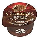 【くら寿司】 カップアイス 濃厚チョコ 12個