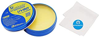 BGA Activated Rosin Solder Paste Tin Rosin-Based Flux Paste Cream for Soldering Rework Station Circuit Board PCB BGA SMD Soldering Repair (80g)
