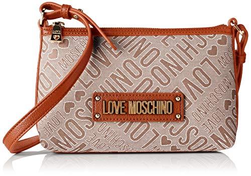 Love Moschino Tess.jacquard Natu+pu, bolso bandolera para Mu