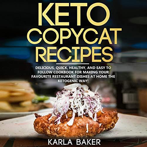 Keto Copycat Recipes cover art