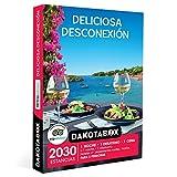 DAKOTABOX - Caja Regalo hombre mujer pareja idea de regalo - Deliciosa desconexión - 2030 estancias en hoteles de hasta 4*, casas rurales, posadas, masías y mucho más