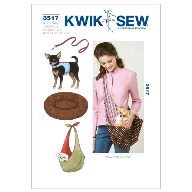 Kwik Sew K3517 Harness Sewing Pattern, Leash