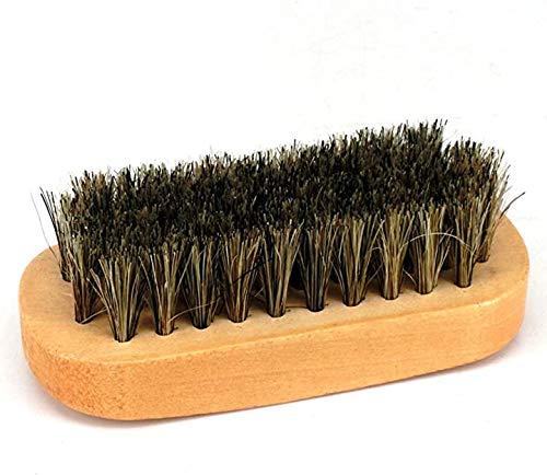Schuhbürsten aus Holz, klein, weich, für Stiefel, Schuhe, Möbel, Autositze, Innenräume, Sofas (Holzfarbe)