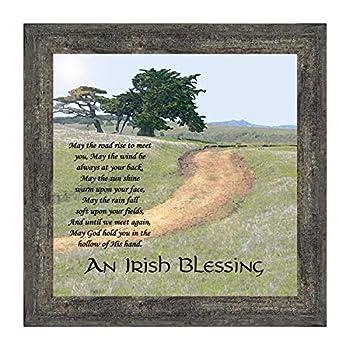 irish blessing wall decor