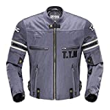 Veste de Moto Homme Jacket d'équitation + Pantalon de Moto