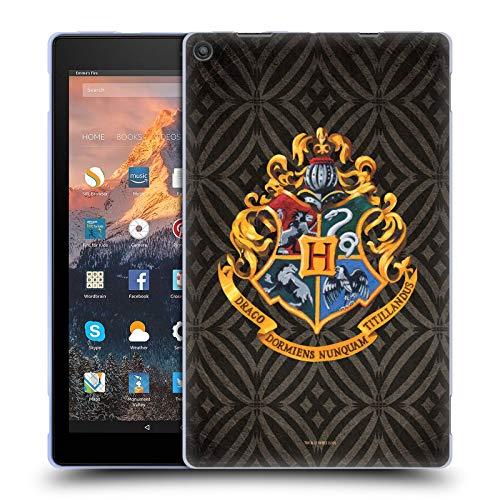 Head Case Designs Offizielle Harry Potter Hogwarts Kamm Prisoner of Azkaban I Soft Gel Handyhulle Hulle Huelle kompatibel mit Amazon Fire HD 10 2017