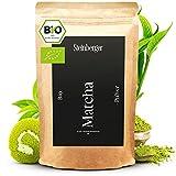 BIO Matcha Tee Pulver von Steinberger I Cooking-Qualität I Original japanisches Grüntee Matcha Pulver I Grüner Tee 100g im wiederverschließbaren Aromapack