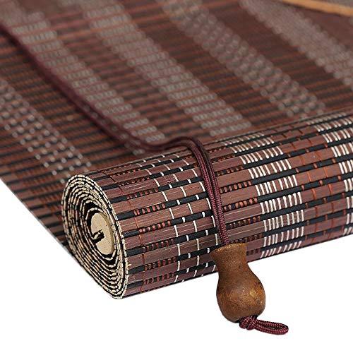 Jiayuan rolluiken, rolluiken, voor buiten, bamboe, met haak