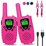 Fairwin Walkie Talkies for Kids, 22 Channels FRS/GMRS UHF Kids Walkie Talkies, 2