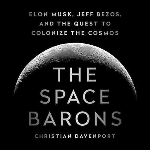 The Space Barons audiobook cover art
