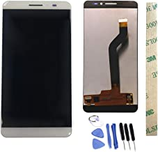 Dr.Chans LCD Display Screen Touch Digitizer Assembly Replacement with Free Tools for Coolpad Tiptop MAX A8-531 A8-930 A8-831 A8 White