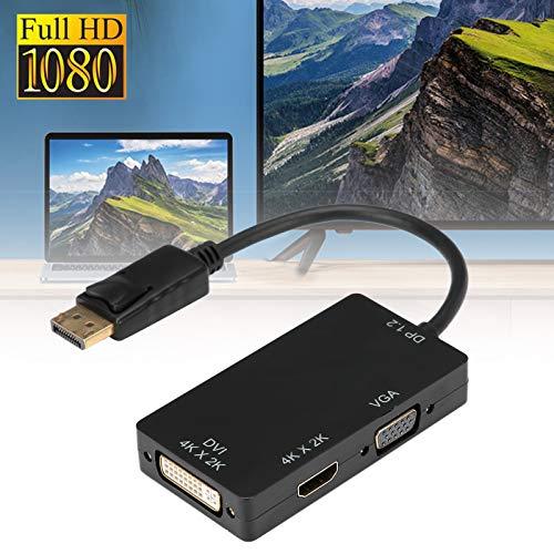jadenzhou Adaptador, Cable Adaptador 3 en 1 1080P, Oficina para TV, computadora en casa