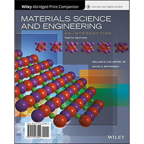 materials science and engineering an introduction 10th edition callister & rethwisch wiley