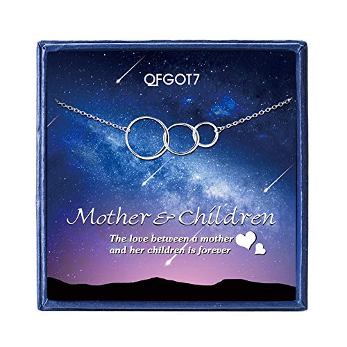 OFGOT7 Mother Daughter Son Necklace