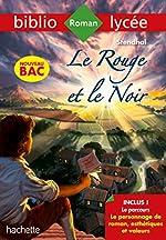 Bibliolycée Le rouge et le noir Stendhal Bac 2020 - Parcours Le personnage de roman de Stendhal