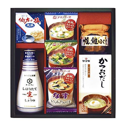 キッコーマン&アマノフーズ バラエティセット EF-25 【調味料 味噌汁 詰め合わせ ギフトセット セット】