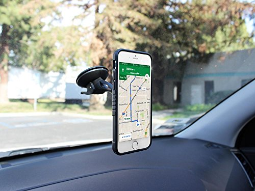 Quick Snap Magnetic Windshield Mount in your Car or Truck fits T Mobile Alcatel RevvL