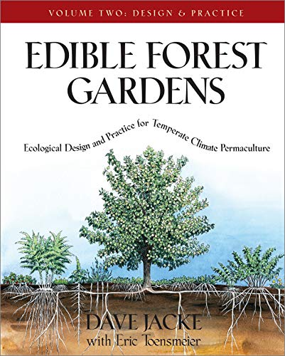 Edible Forest Gardens Vol. 2: Ecological Design and Practice for Temperate-Climate Permaculture: Ecological Vision and Theory for Temperate-climate Permaculture